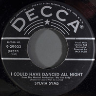 Sylvia Syms - I Could Have Danced All Night / The World In My Corner