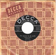 Sylvia Syms - It's Good To Be Alive/Be Good (To Me)
