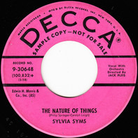 Sylvia Syms - The Nature Of Things / The Night They Invented Champagne