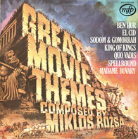 Symphony Orchestra Of Rome Conducted By Miklós Rózsa And Carlo Savina - Great Movie Themes