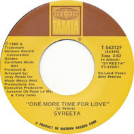 Syreeta - One More Time For Love