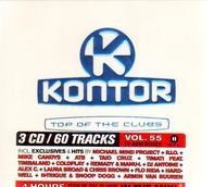 Taio Cruz / Pirupa / Amna a.o. - Kontor Top Of The Clubs Vol. 55