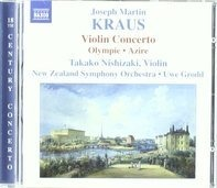 Takako Nishizaki - Kraus: Violinkonzert/Olympie/Azire