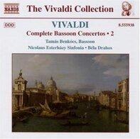 Tamas Benkocs - Vivaldi:Complete bassoon Concertos Vol. 2