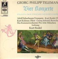 Telemann - Vier Konzerte Für Flöte, Oboe, Streicher und Basso Continuo