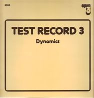 Test Record 3 - Dynamics