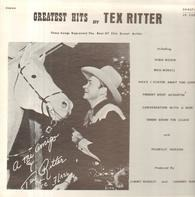 Tex Ritter - Greatest Hits By Tex Ritter