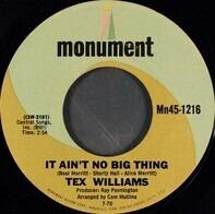 Tex Williams - It Ain't No Big Thing