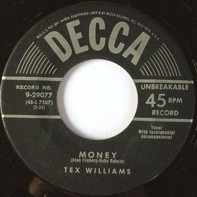 Tex Williams - Money / If You'd Believe In Me