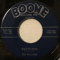 Tex Williams - Too Many Tigers / Winter Snow