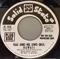 Thad Jones / Mel Lewis Orchestra - Hawaii / Sophisticated Lady