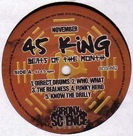 The 45 King - Beats Of The Month #November