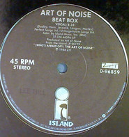 The Art Of Noise - Beat Box / Close (To The Edit)