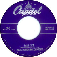 The Art Van Damme Quintet - Dark Eyes / Lover