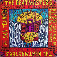 The Beatmasters Featuring Betty Boo - Hey DJ / I Can't Dance (To That Music You're Playing) b/w Ska Train