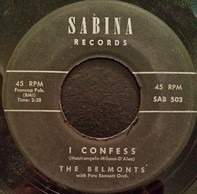 The Belmonts - I Confess / Hombre