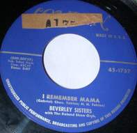 The Beverley Sisters - I Remember Mama