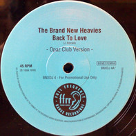 The Brand New Heavies - Back To Love