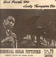 The Bud Powell Trio / Lucky Thompson Trio - Memorial Oscar Pettiford