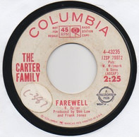 The Carter Family - Farewell / You Win Again