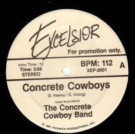 The Concrete Cowboy Band - Concrete Cowboys / Cajun Stripper