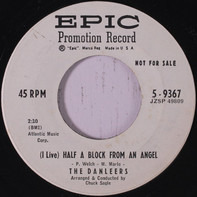 The Danleers - (I Live) Half A Block From An Angel / If You Don't Care