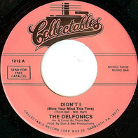 The Delfonics - Didn't I (Blow Your Mind This Time) / I Gave To You