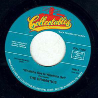 The Dramatics - Whatcha See Is Whatcha Get / Get Up And Get Down