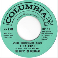 The Dukes Of Dixieland - Lida Rose / If I Were A Bell