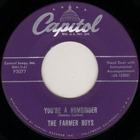 The Farmer Boys - You're A Humdinger / I'm Just Too Lazy