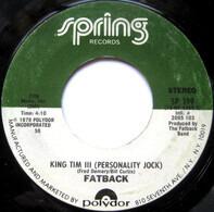 The Fatback Band - You're My Candy Sweet / King Tim III (Personality Jock)
