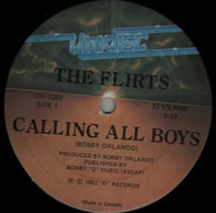 The Flirts - Calling All Boys