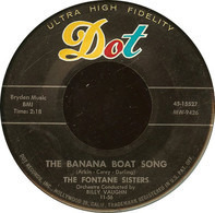 The Fontane Sisters - The Banana Boat Song