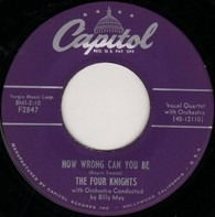 The Four Knights - How Wrong Can You Be / Period