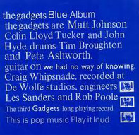 The Gadgets - Blue Album