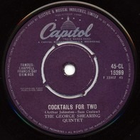 The George Shearing Quintet - Cocktails For Two