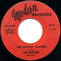 The Ikettes - Peaches 'N Cream / The Biggest Players