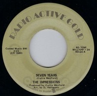 The Impressions - Seven Years / The Girl I Find