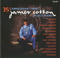 The James Cotton Blues Band - 35th Anniversary Jam Of The James Cotton Blues Band
