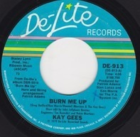 The Kay-Gees - Burn Me Up