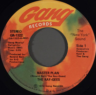 The Kay-Gees - Master Plan / Who's The Man? (With The Master Plan)