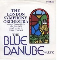 The London Symphony Orchestra Conducted From The Violin Of John Georgiadis - The Blue Danube Waltz