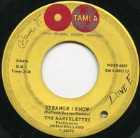 The Marvelettes - Strange I Know / Too Strong To Be Strung Along