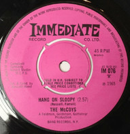 The McCoys - Hang On Sloopy / This Is Where We Came In