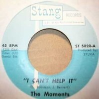 The Moments - I Can't Help It