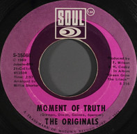 The Originals - Baby I'm For Real / Moment Of Truth