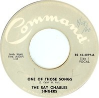 The Ray Charles Singers - One Of Those Songs / To You
