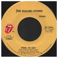 The Rolling Stones - Fool To Cry / Hot Stuff