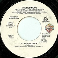 The Rubinoos - If I Had You Back