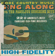 The Sunshine Boys Quartet - More Country Music Sing Along